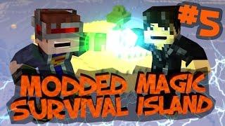 Survival Island Modded Magic - Minecraft: Magical Creeper Part 5