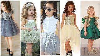 Cute Dusty Flower Girl Dresses Beaded Tutu Puffy Kids Pageant  Little Girl Dresses 2020