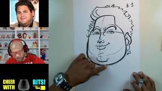 How To Draw Caricatures Of Round & Heavy Set Faces Pt1