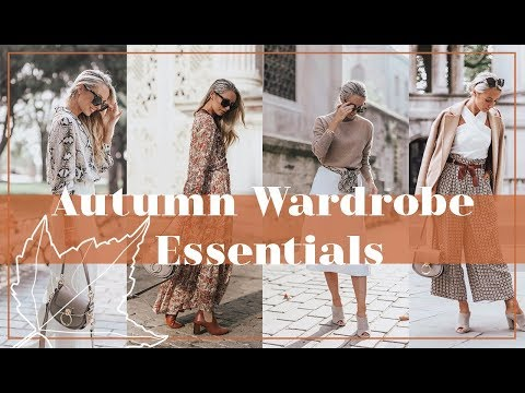 11 AUTUMN WARDROBE ESSENTIALS // 🍂 #FashionMumblrAutumnEdit 🍂
