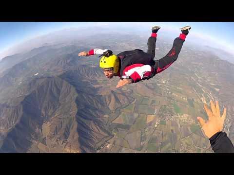 Curso Paracaidismo AFF Saltos del 1 - 6 SkydiveAndes Chile