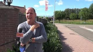 Geen voetpad aan de Keesomweg in Waalwijk, bewoners zijn niet blij.