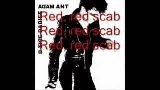 Adam and the Ants - Red Scab Lyrics