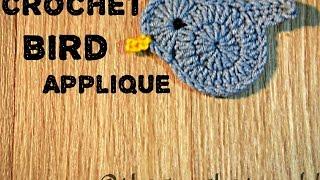 Crochet Bird Applique [HD]