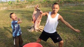 Bê Nướng Tảng - Cười Há Mồm Khi Mao Đệ Thèm Thịt Lợn Mà Không Có Tiền Mua