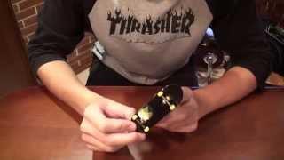 Finger Tips! Обучение базовым трюкам на фингерборде. Ollie и Kickflip