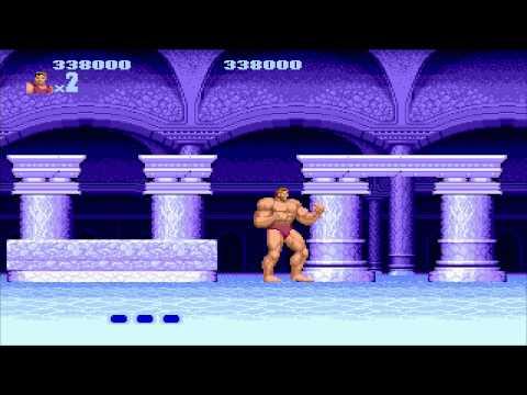 1988 Altered Beast SEGA Genesis Old School retro game playthrough