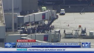Multiple dead in Florida airport shooting