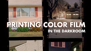 How to Print Color Film in the Darkroom