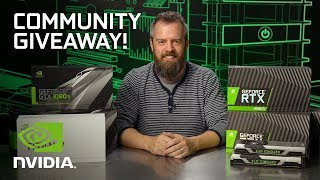 Holiday Community GPU Giveaway! Thank You, All!