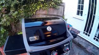 Weber Spirit E310 Classic first use and review