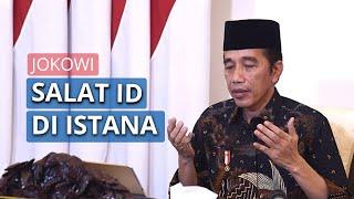 Presiden Jokowi Bersama Keluarga Salat Idulfitri di Bogor: Mari Kita Komitmen untuk Memperbaiki Diri