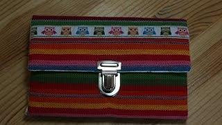 Portemonnaie Wildspitz von Farbenmix nähen