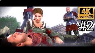 Kingdom Come Deliverance 4K Gameplay Walkthrough Part 2 ULTRA HD