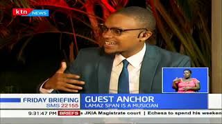 Musician Lamaz Span speaks about his journey | GUEST ANCHOR
