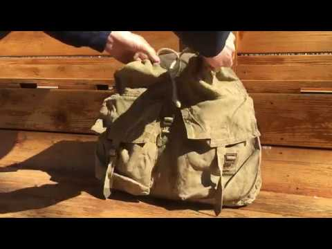 Personal Review on Czech m60 Rucksack