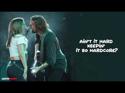 Lady Gaga & Bradley Cooper - Shallow ( Lyrics Video )