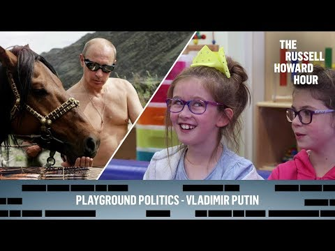 Russell Howard - děti o Vladimiru Putinovi