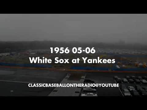 1956 05 06 White Sox at Yankees