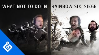 What Not To Do In Rainbow Six: Siege