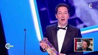 """Guillaume Gallienne Sur Ses 5 César """"c'est Derrière Moi"""" - C à Vous - 09/12/2014"""