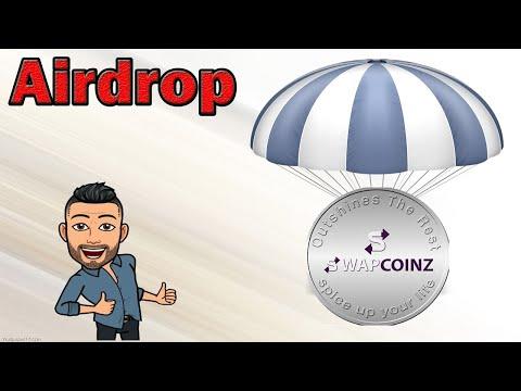 Ganhe U$10 Dólares no Airdrop Swapcoinz , já pagou Airdrops anteriores !