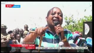 KTN News:Gideon Moi on Laikipia insecurity