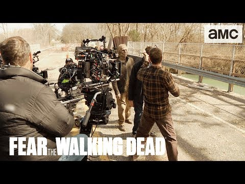 'The Walker Bridge' Behind the Scenes Ep. 405 | AMC 'Fear the Walking Dead' Thumbnail