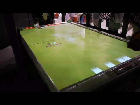 Multitouch Air Hockey Table Is Nearly Impossible To Play