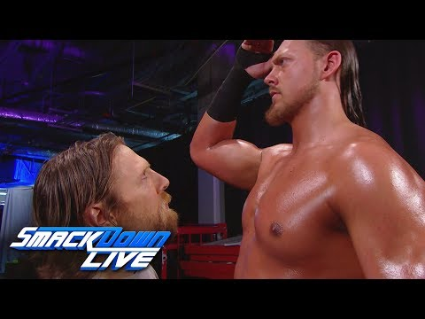 Big Cass confronts Daniel Bryan during the Superstar Shake-up: SmackDown LIVE, April 17, 2018