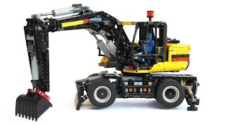 LEGO Technic Wheel Excavator
