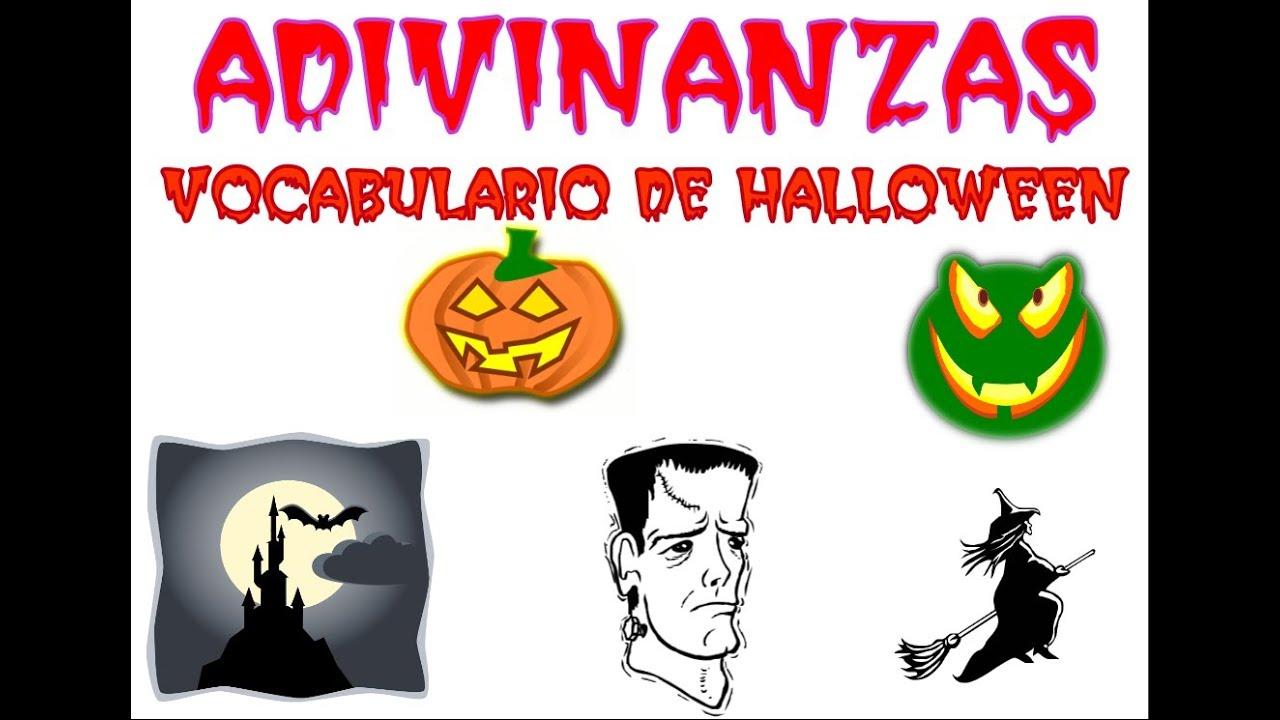 Adivinanzas de Halloween con siluetas