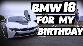 BUYING MY DREAM CAR BMW i8