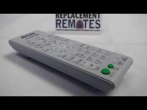 SONY RMTD189A DVD Player Remote Control