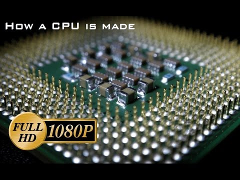 Jak se vyrábějí procesory?