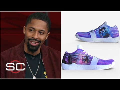 0eb27c0f2d7 Spencer Dinwiddie wore his Beyoncé sneakers and dropped 33 points on the  Rockets | SportsCenter