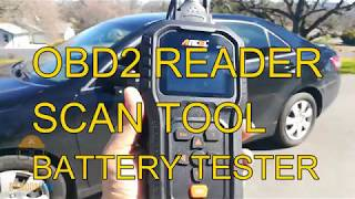▶️How To Reset Check Engine Light, Ancel AD510 REVIEW OBD2 SCAN TOOL BATTERY TESTER ▶️ HONEST REVIEW