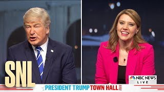 Dueling Town Halls Cold Open - SNL