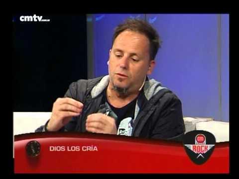 Dios Los Cría video Entrevista CM Rock - 09-10-2014