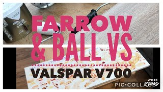 Episode 6 - Farrow And Ball Vs Valspar V700 Durability Text OMG I Can't Believe The Results!