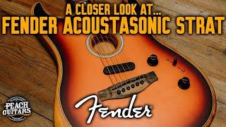 A Closer Look At...Fender Acoustasonic Strat