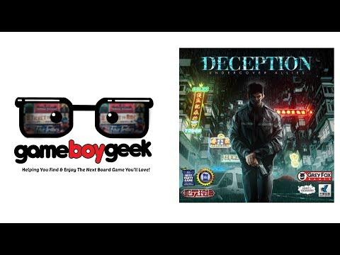 The Game Boy Geek Reviews Deception: Undercover Allies