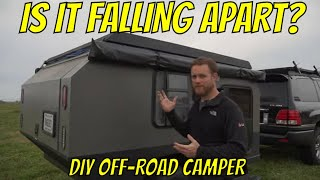 Has Off-Roading been too much for the DIY Overland Camper Build?