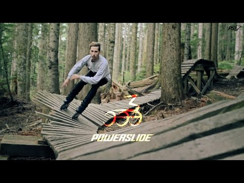 Inline Skating Through Canadian Forests