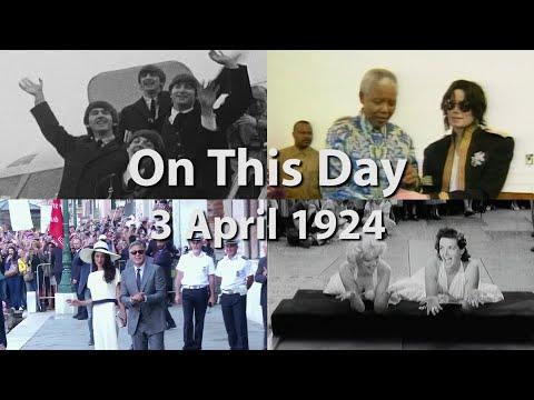 Academy Award-winning actor Marlon Brando was born in Omaha, Nebraska. (April 3)