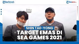 Shin Tae Yong Bicara Soal Target Emas SEA Games dan Kualitas Pesepakbola Indonesia