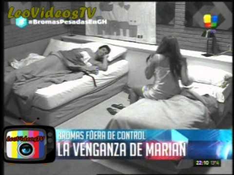 Marian por venganza le escupio la cama a Francisco #GH2015 #GranHermano