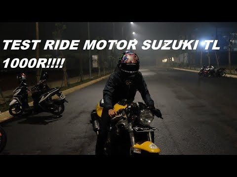 #20 |TEST RIDE MOTOR SUZUKI TL 1000R|BERAT BANGET!!!|#MOTOVLOGGERINDONESIA