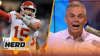 Colin wasn't impressed with Chiefs on MNF, says Chargers need to move off Rivers | NFL | THE HERD