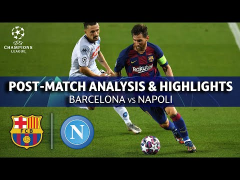 Barcelona vs Napoli: Post Match Analysis and Highlights | UCL on CBS Sports